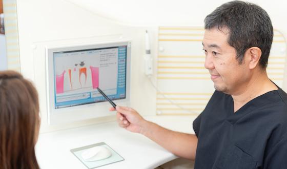 唾液検査の流れ